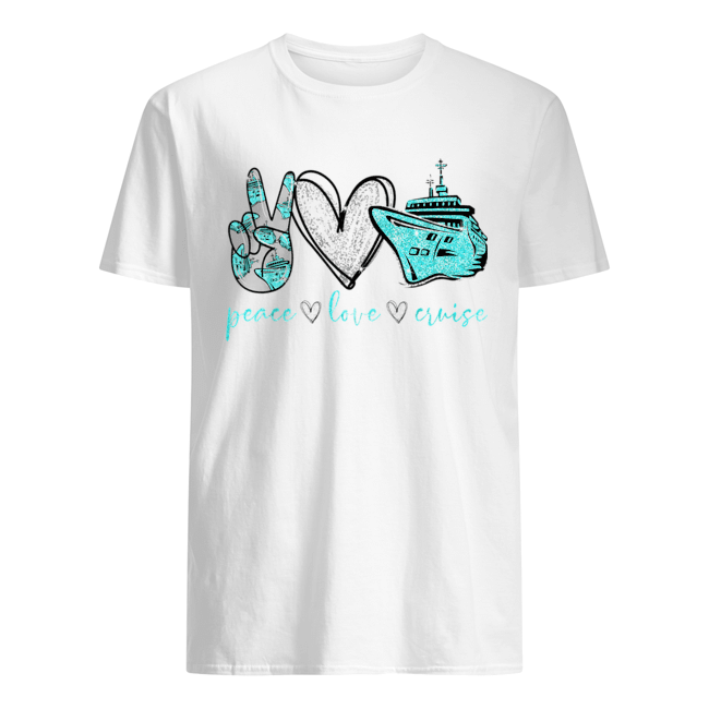 Peace Love Cure Cruise  Classic Men's T-shirt