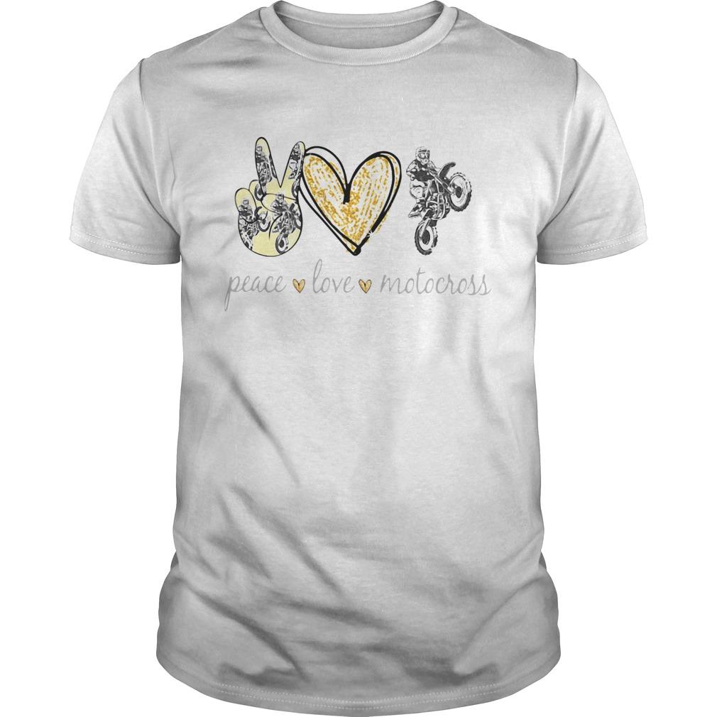 Peace Love Motocross  Unisex