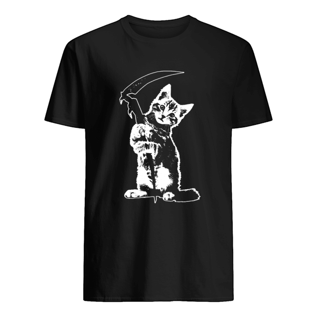 Reaper Kitty  Classic Men's T-shirt