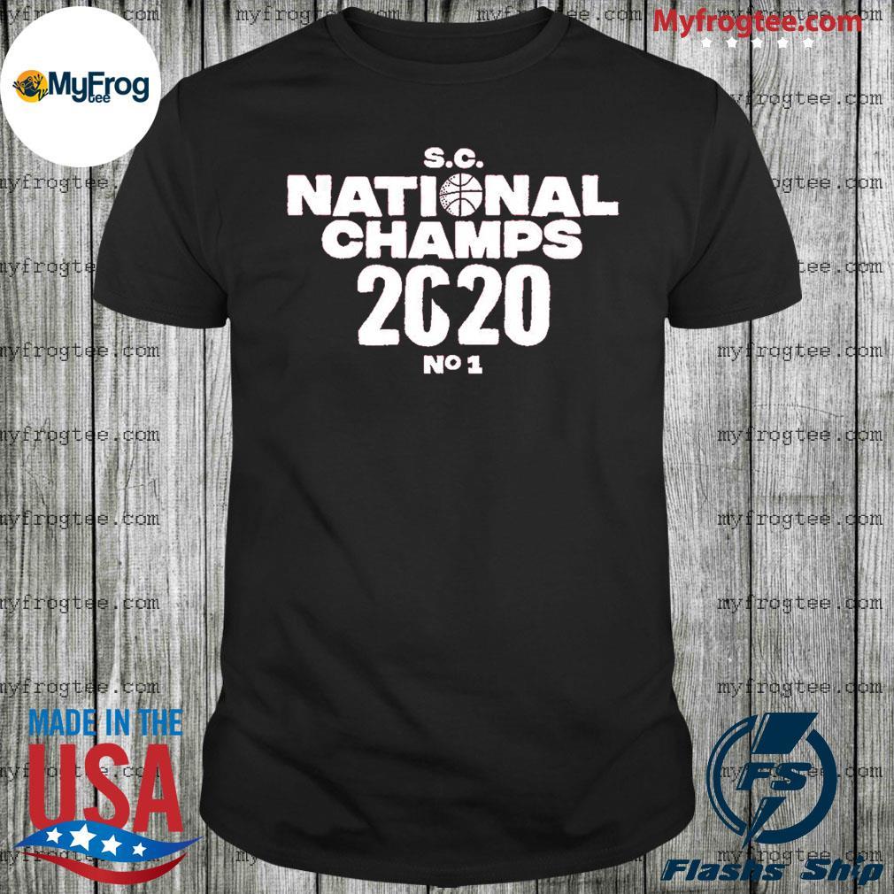 SC national champs 2020 no 1 shirt