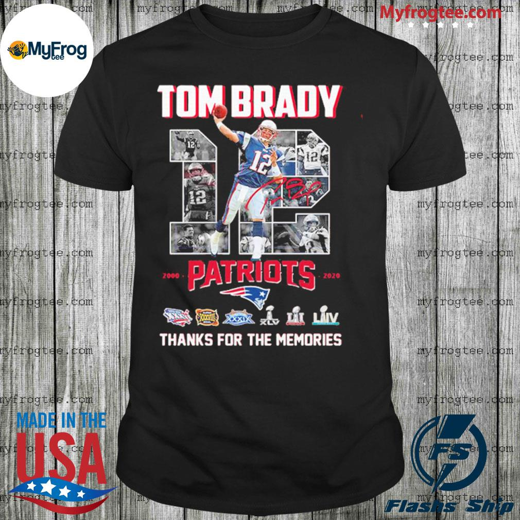Tom Brady patriots Liiv thank you for the memories shirt