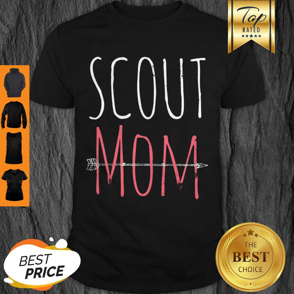 Top Scout Mom Mother Mama Scouting Team Leader Proud Vintage Shirt