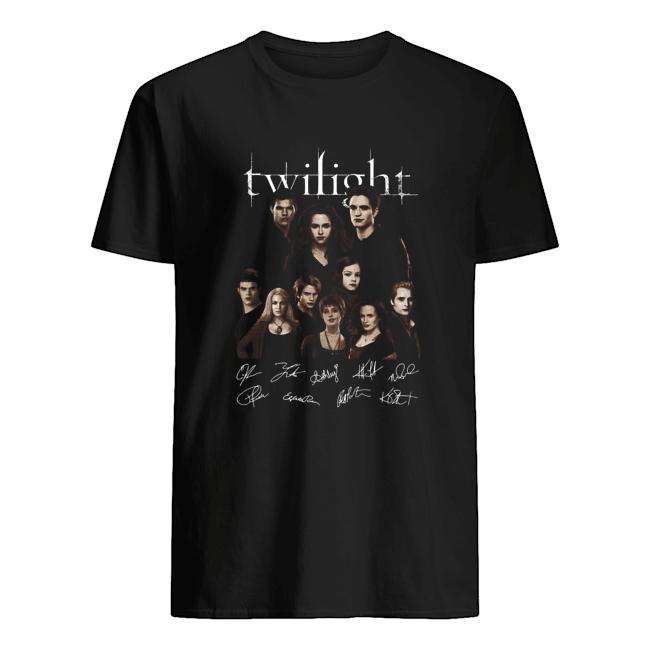 Twilight all characters signature  Classic Men's T-shirt