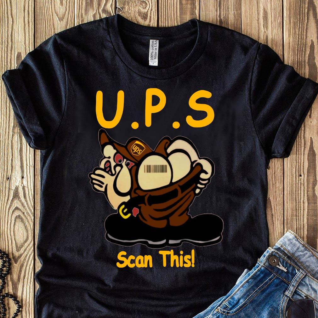 UPS Scan This Ass Barcode Shirt