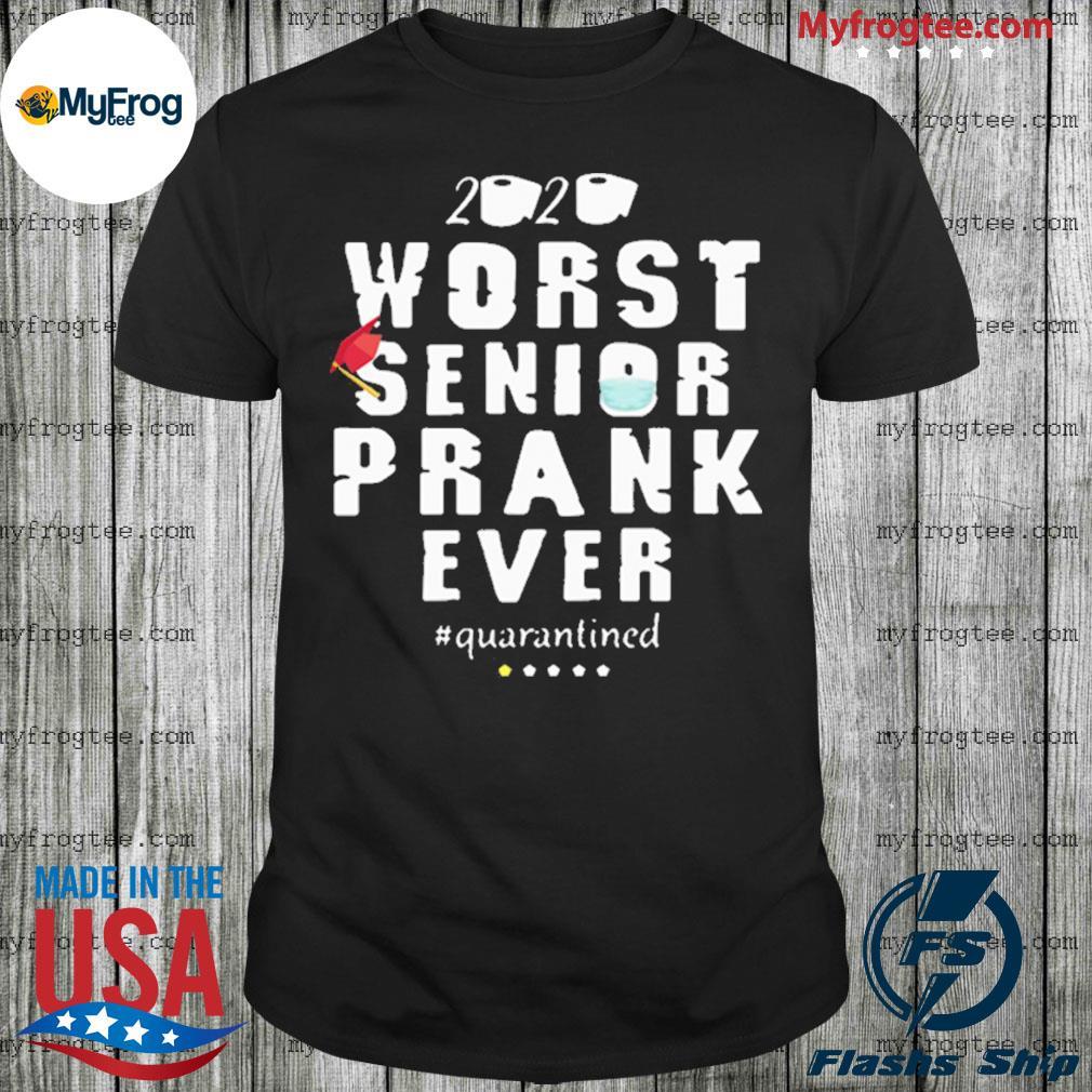 Osborna arrt worst senior prank ever 2020 #quarantined shirt