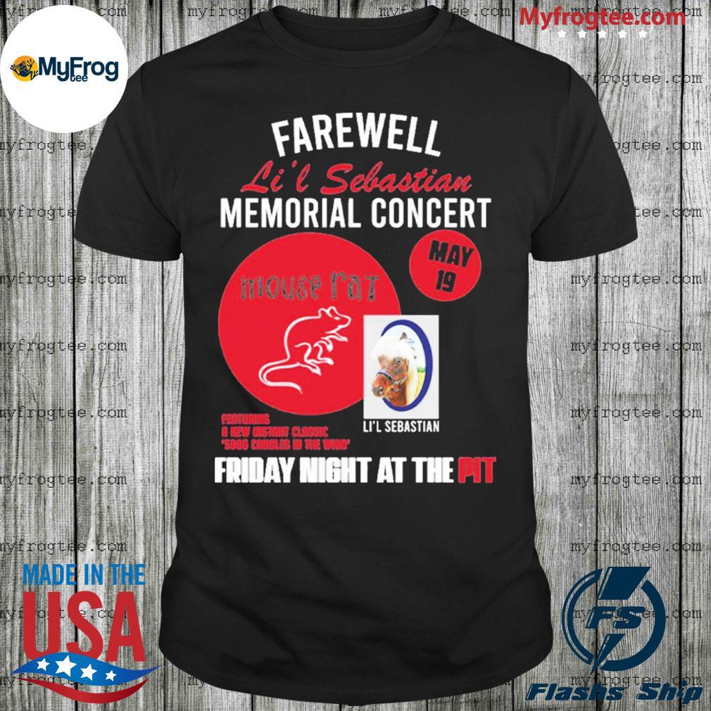Parks And Recreation Farewell Li'l Sebastian Memorial Concert shirt