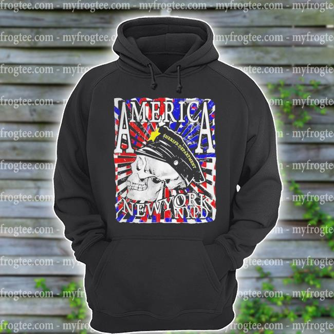 America New York NYPD Sheriff Department s hoodie