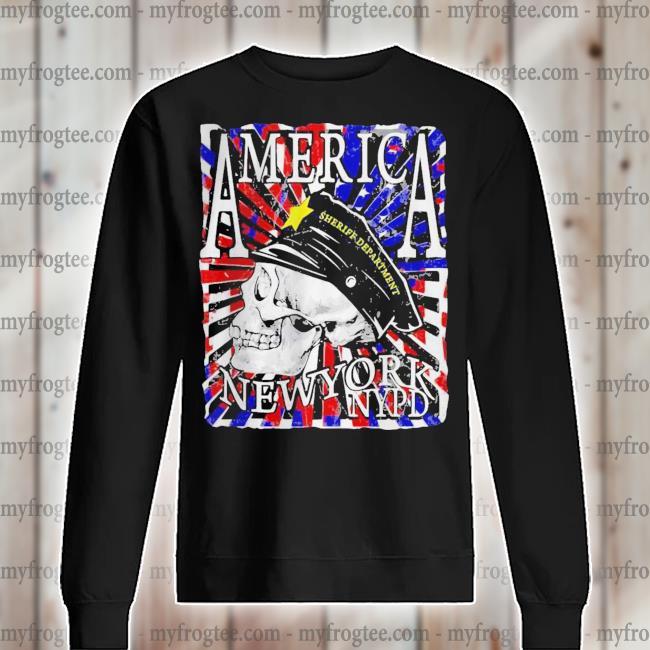 America New York NYPD Sheriff Department s sweater