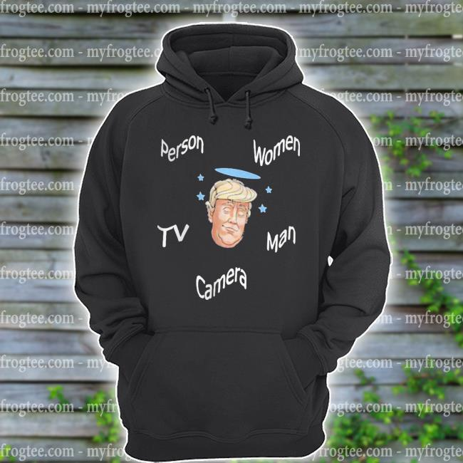 Angel Trump person women man camera Tv s hoodie
