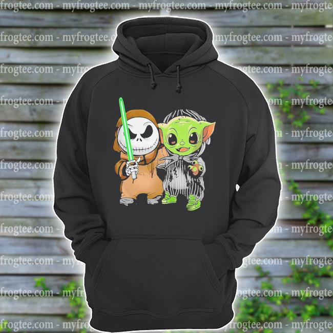 Baby Jack Skellington and Baby Yoda s hoodie