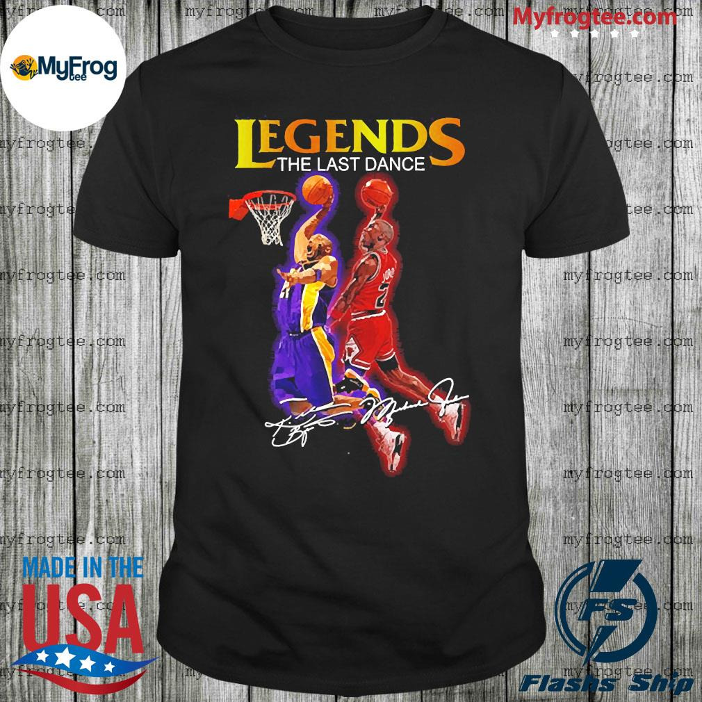 Basketball legends the last dance signature shirt