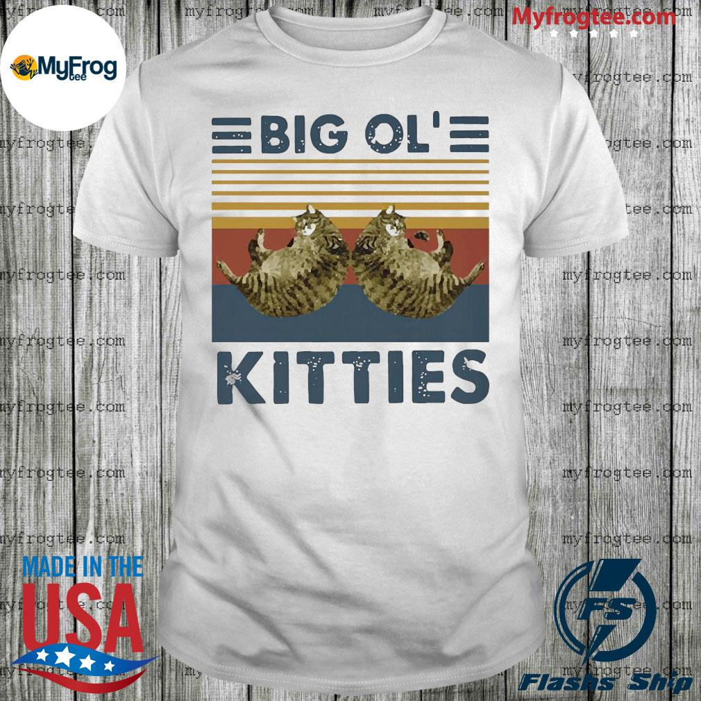 Big ol kitties vintage shirt
