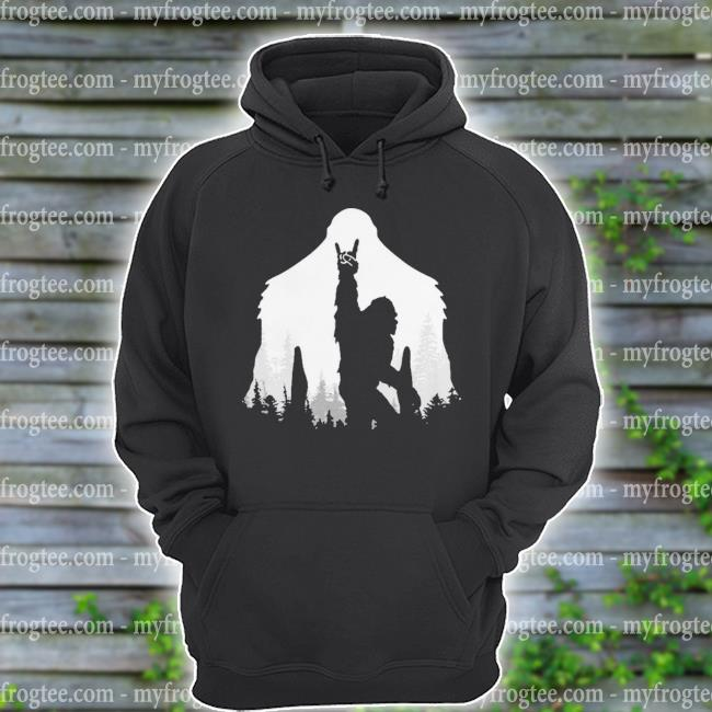 Bigfoot Rock and Roll s hoodie