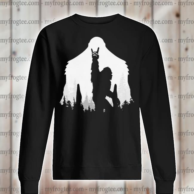 Bigfoot Rock and Roll s sweater