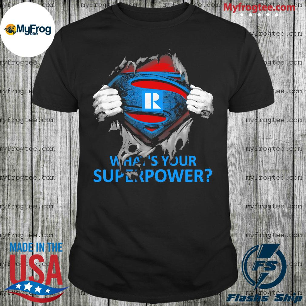 Blood inside me what's your Superpower shirt