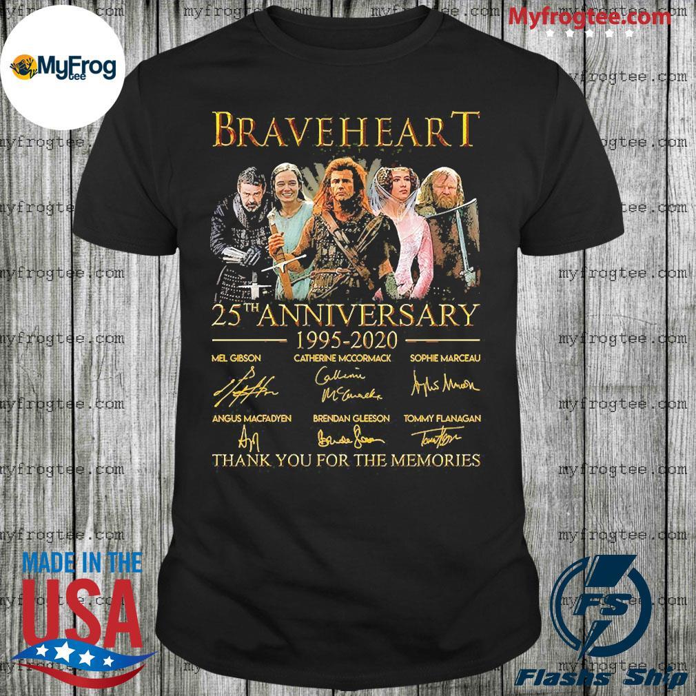 Braveheart 25th anniversary 1995 2020 shirt