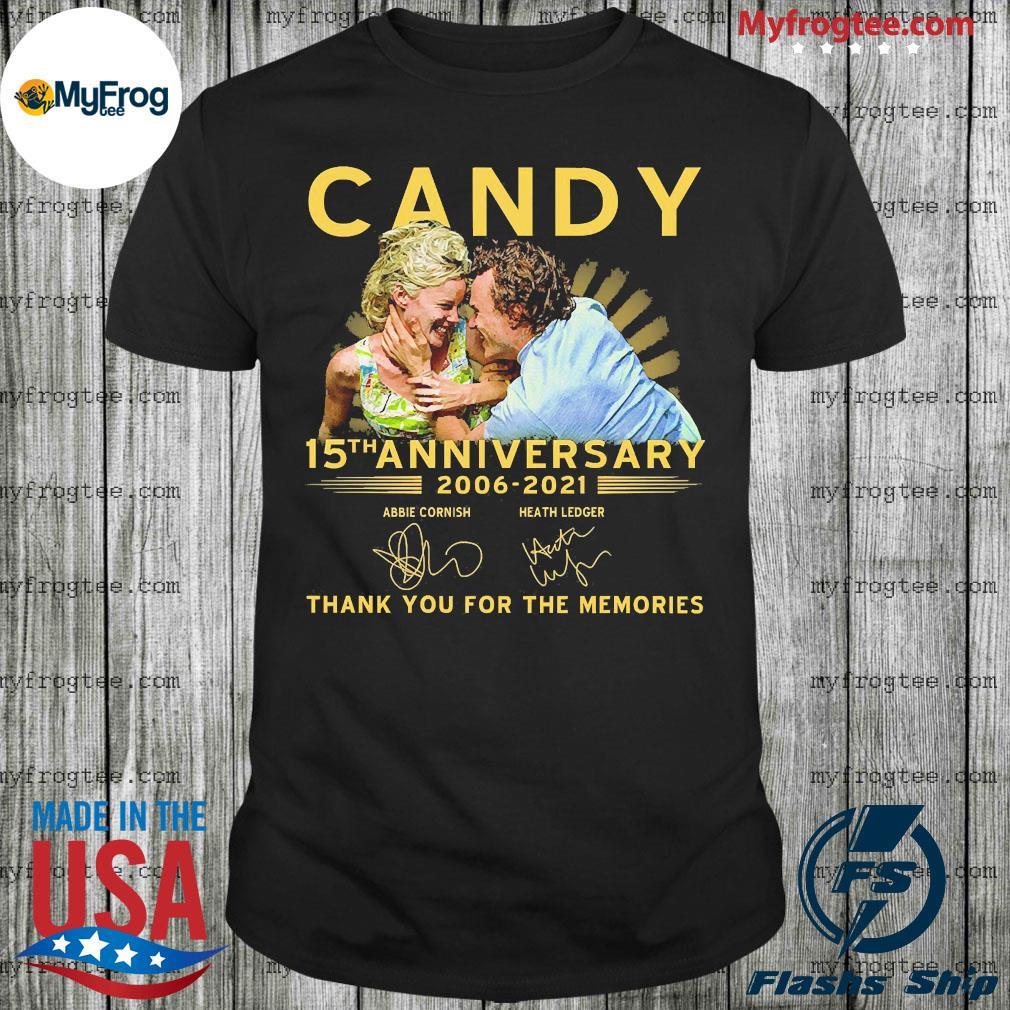 Candy 15th anniversary 2006 2021 shirt