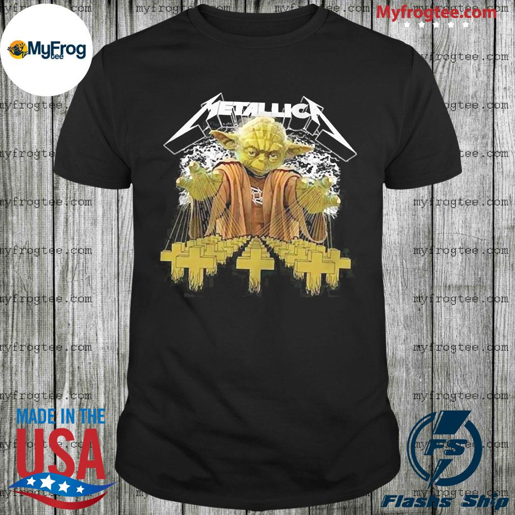 Metallica Yoda Star Wars Shirt