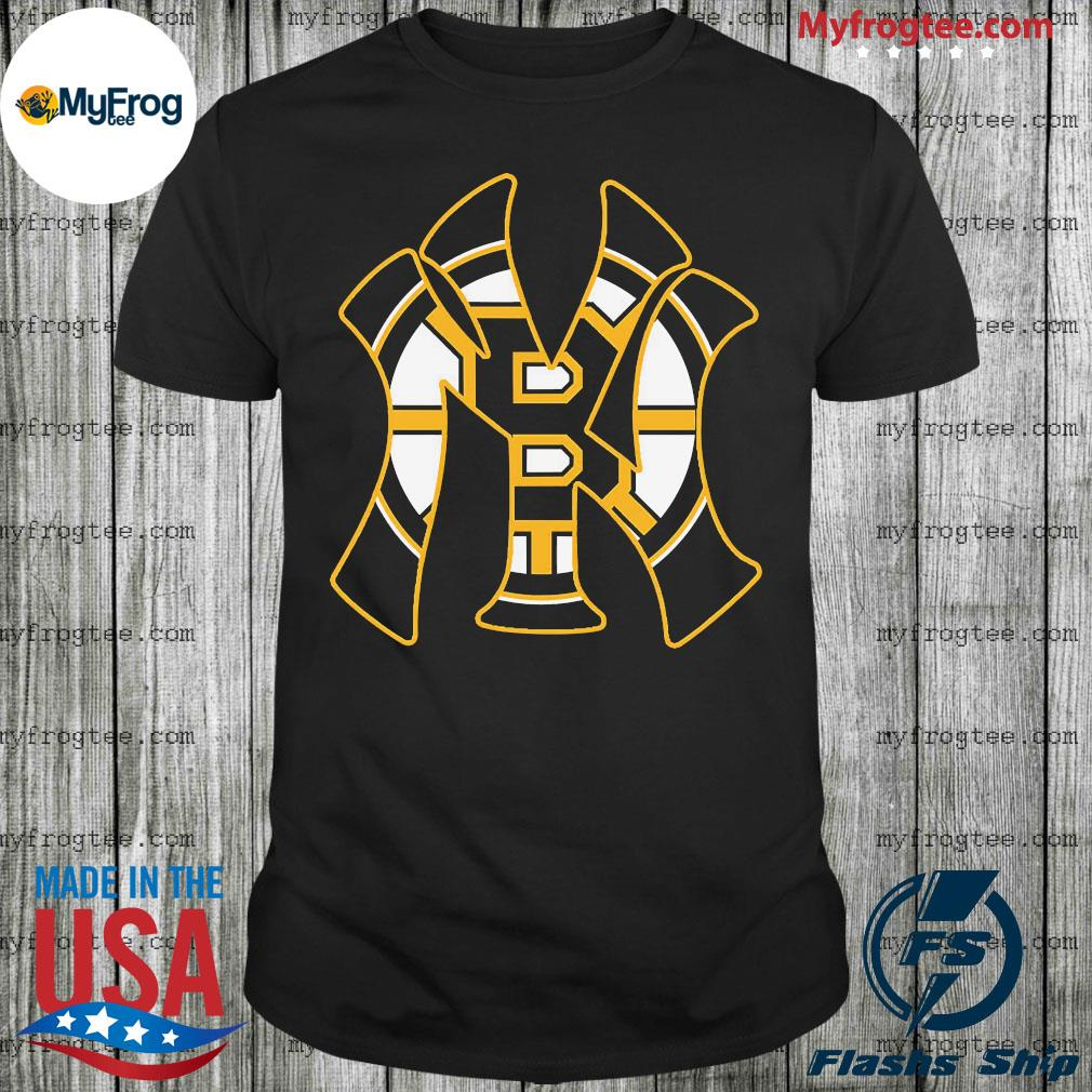 New York Yankees and Boston Bruins shirt