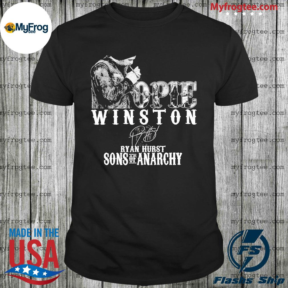 Opie Winston signature ryan hurst sons of anarchy shirt