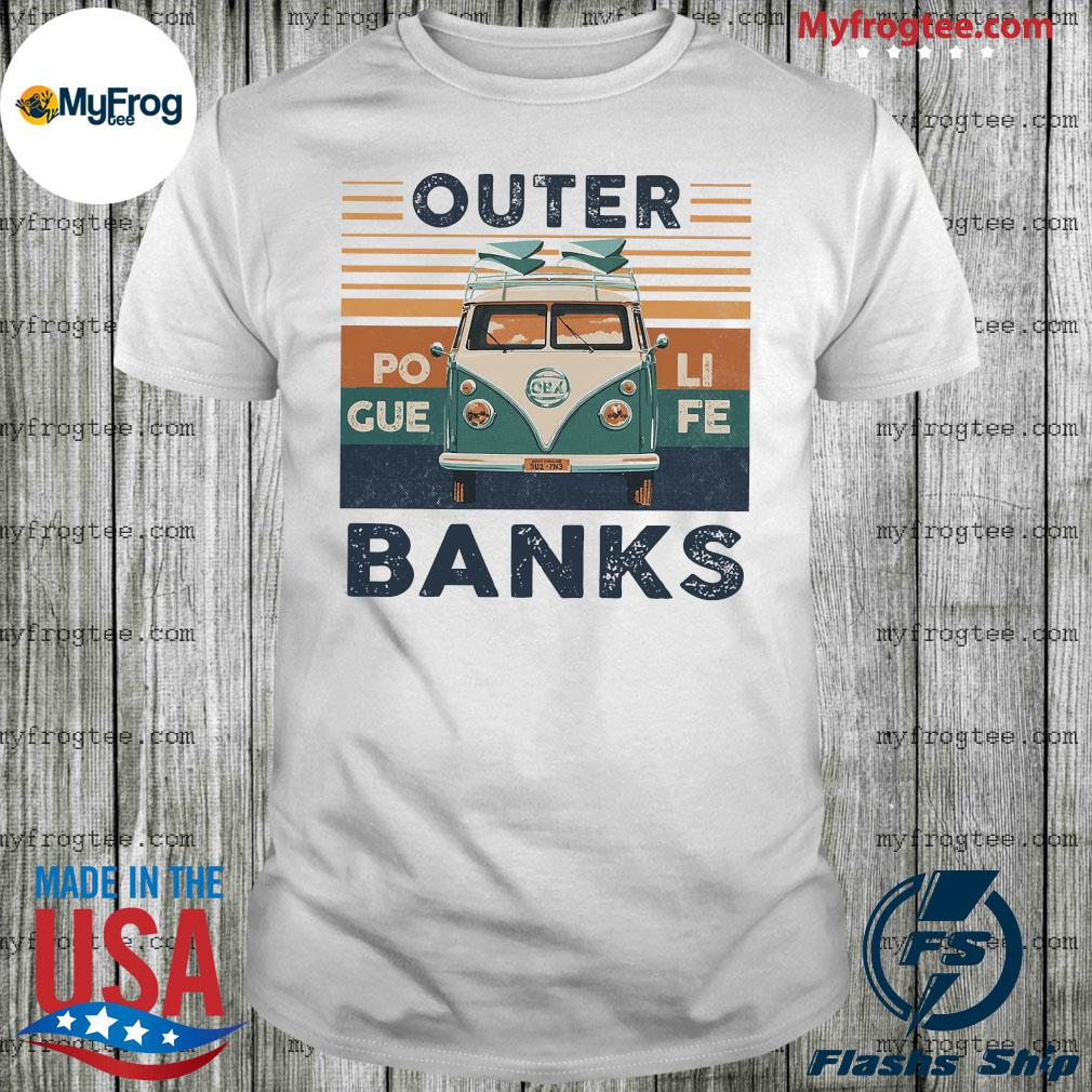 Outer poli gue fe banks vintage shirt
