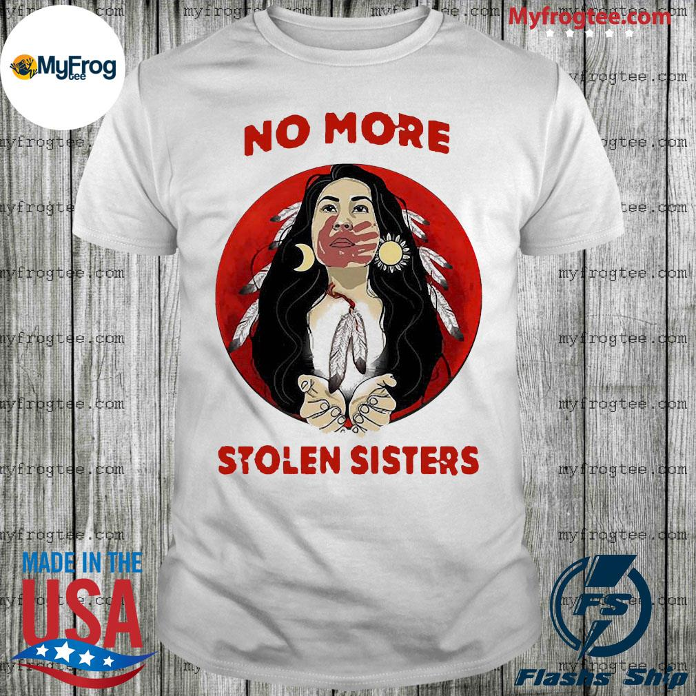 Red Indian moon No more stolen sisters shirt