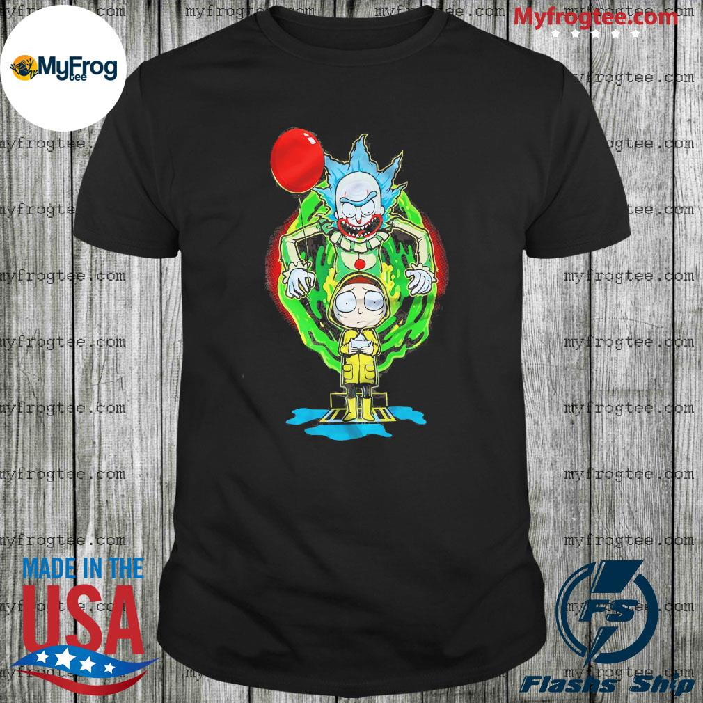 Rick and Morty time vortex shirt