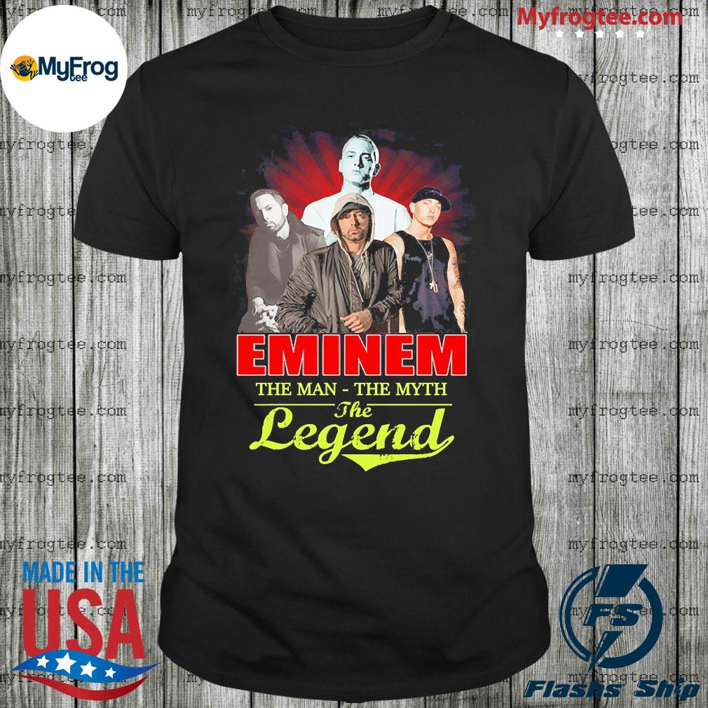 Slim Shady eminem the man the myth the legend shirt