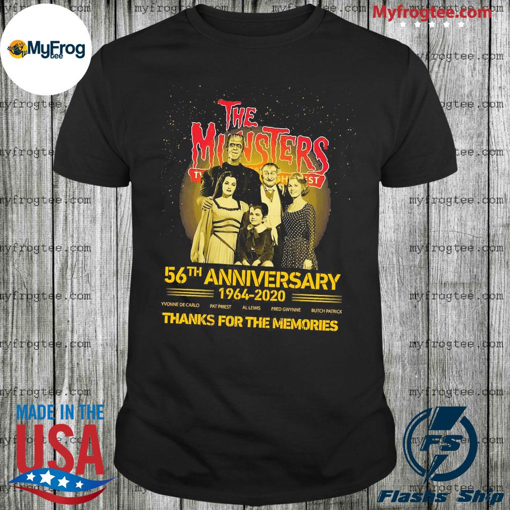 The Munsters 56th anniversary 1964 2020 thanks for the memories shirt