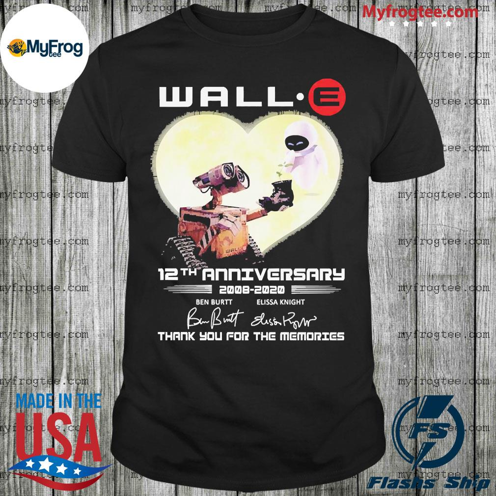 Wall eva wall 12th anniversary 2008 2020 signature shirt