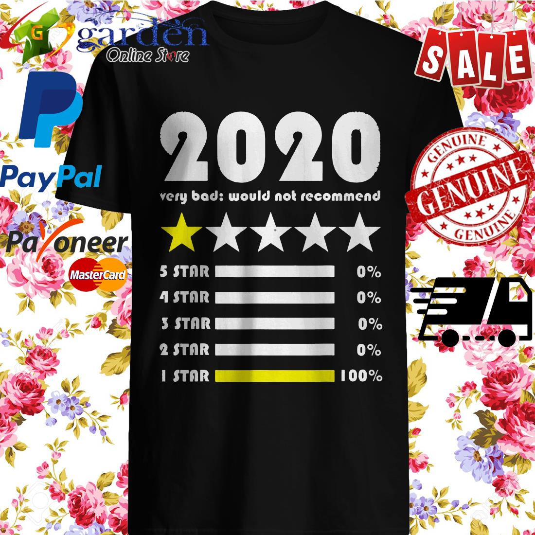 2020 rating very bad would not recommend Shirt