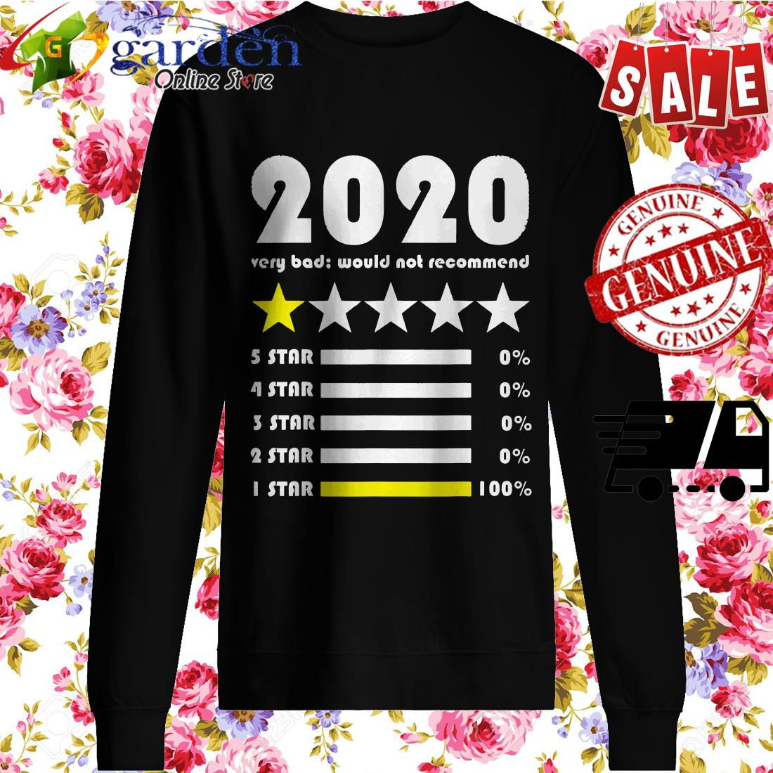 2020 rating very bad would not recommend sweater