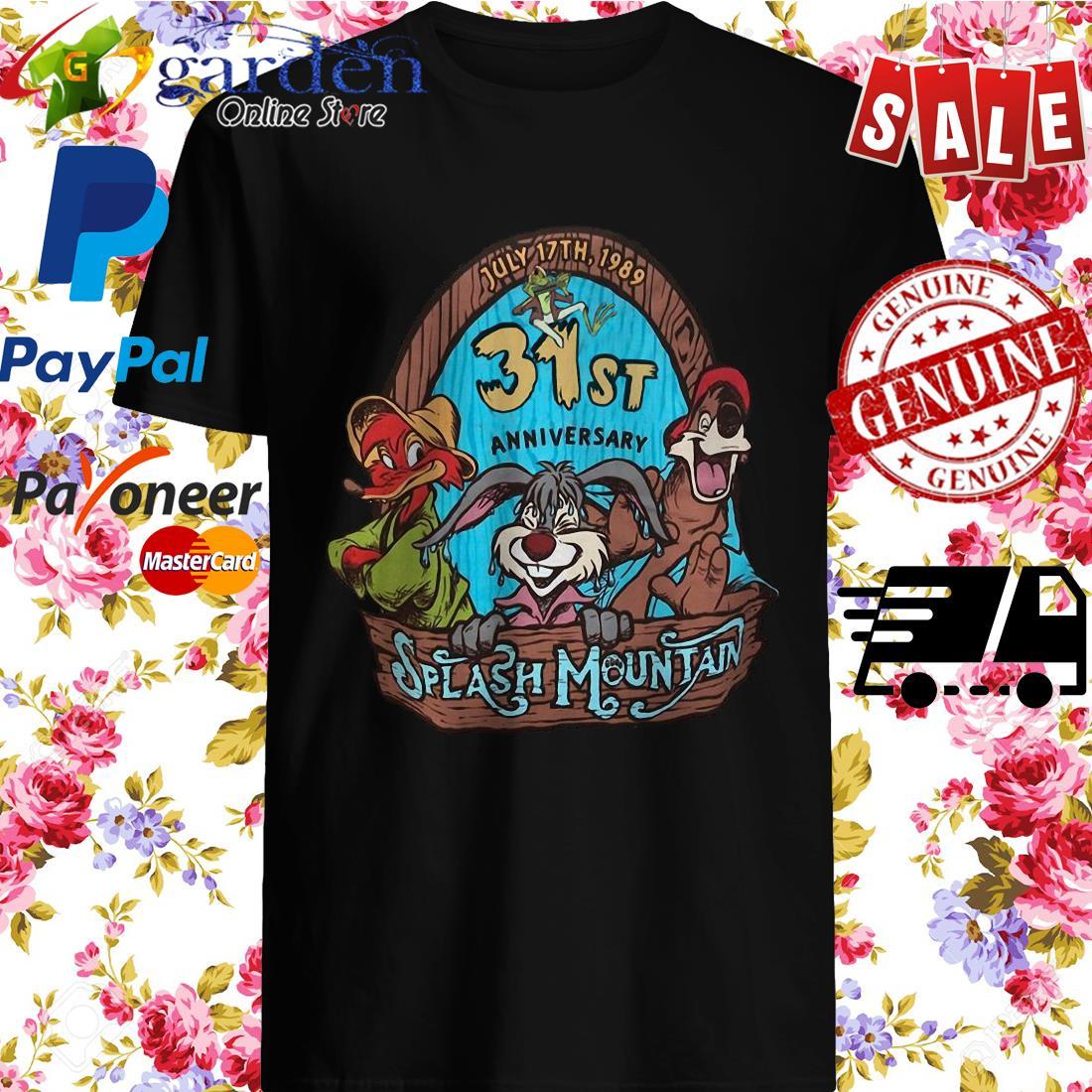30st Anniversary Splash Mountain Shirt