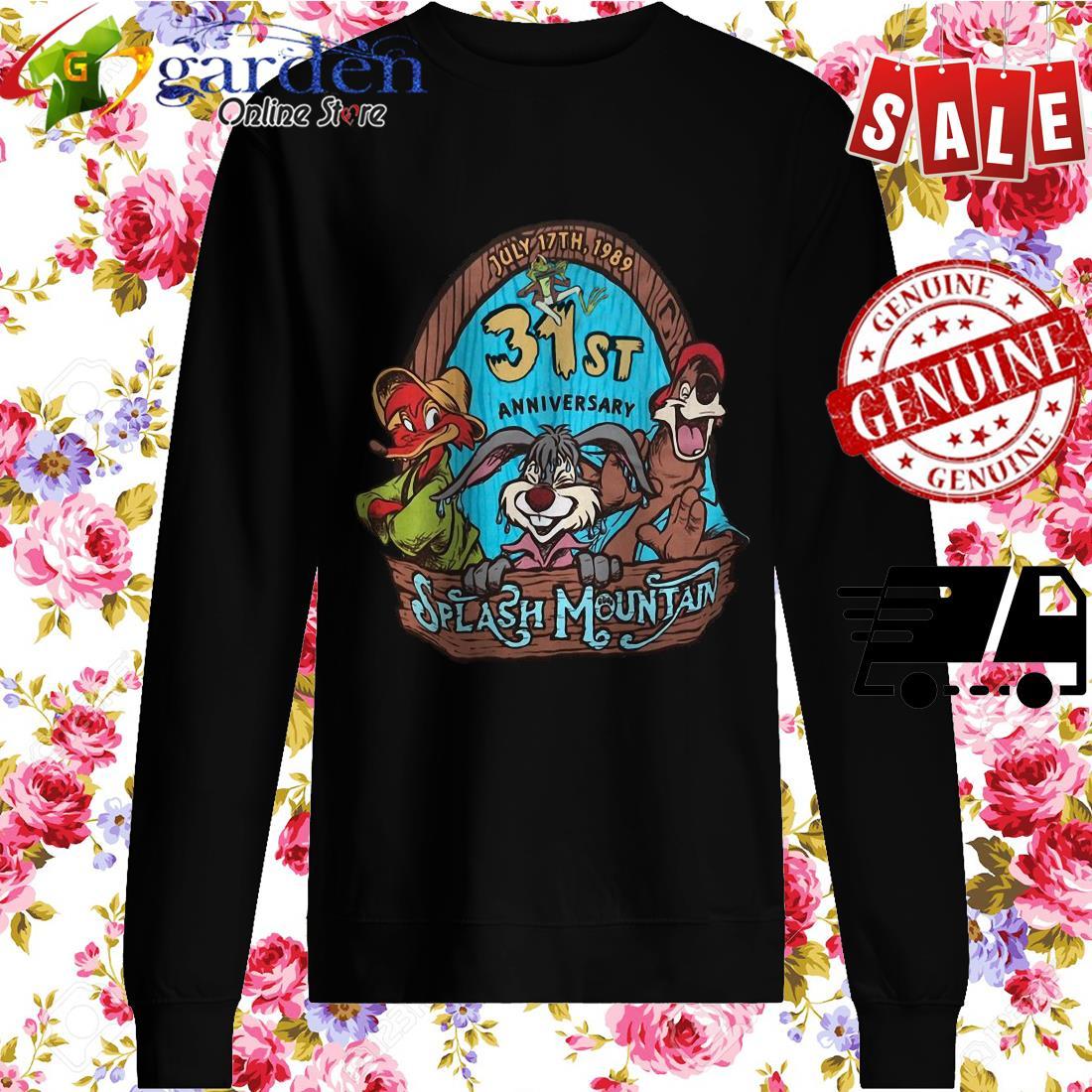 30st Anniversary Splash Mountain sweater
