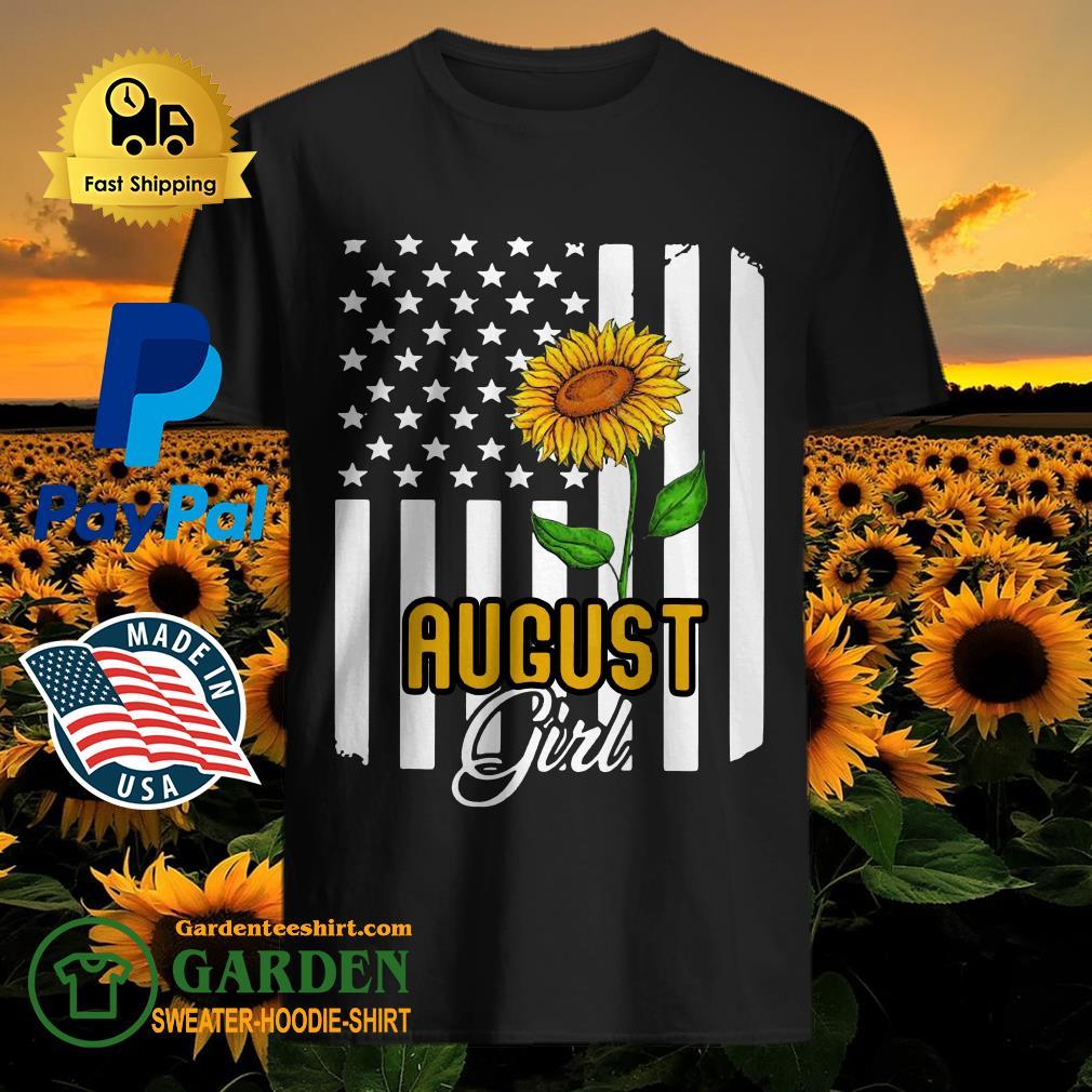 August girl sunflower shirt