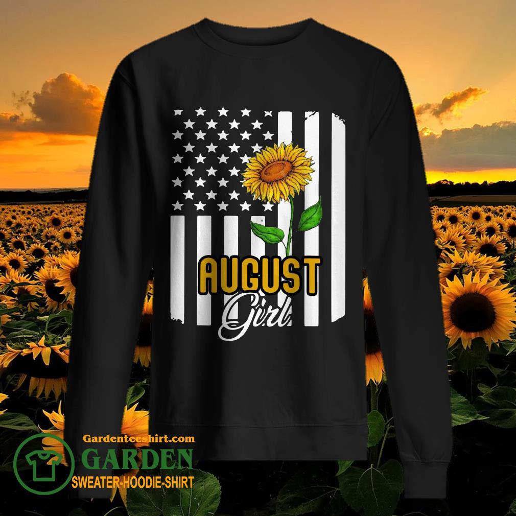 August girl sunflower sweater