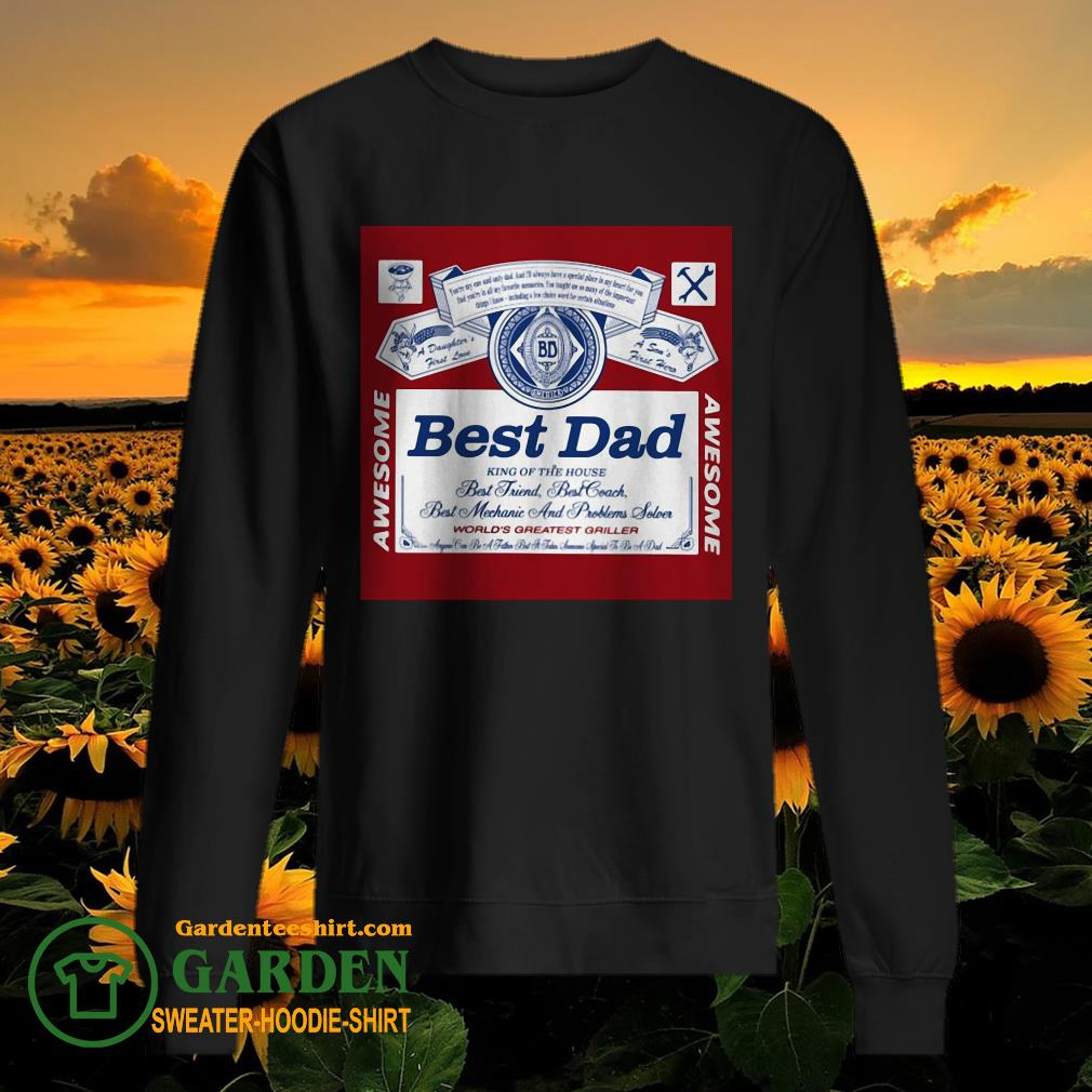 Best Dad King Of The House sweater
