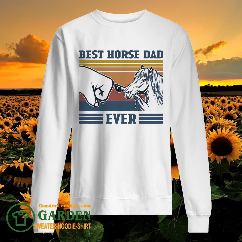 Best horse Dad ever vintage sweater