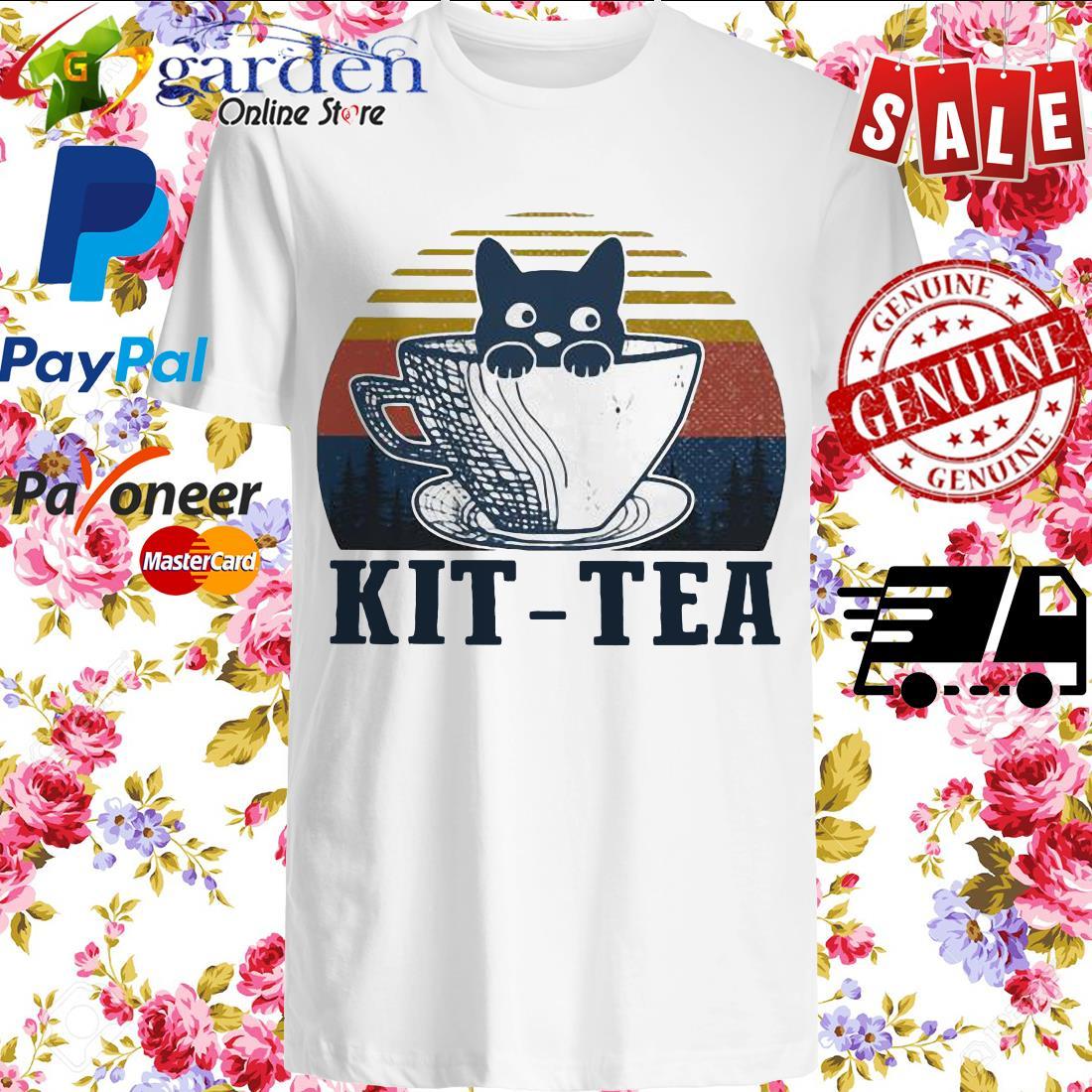 Cat Kit – tea vintage shirt