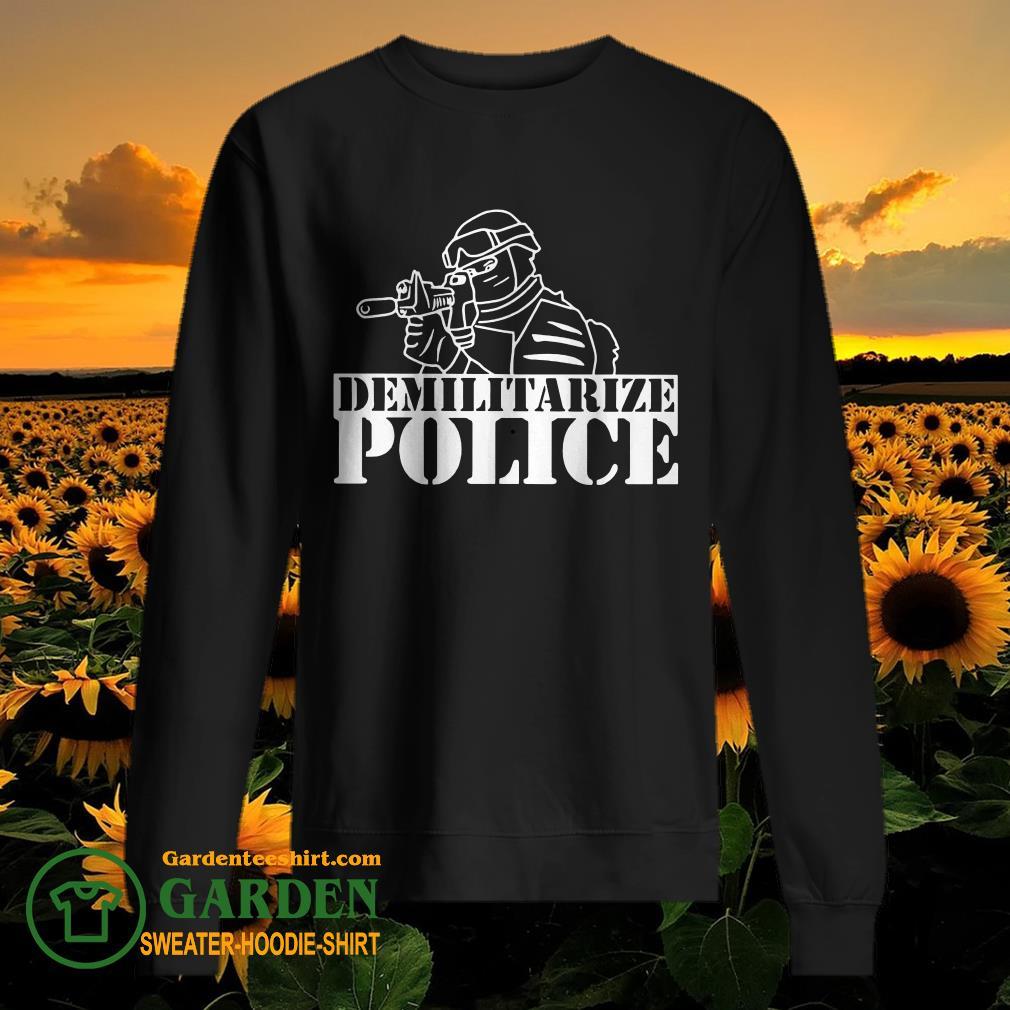Demilitarize Police sweater