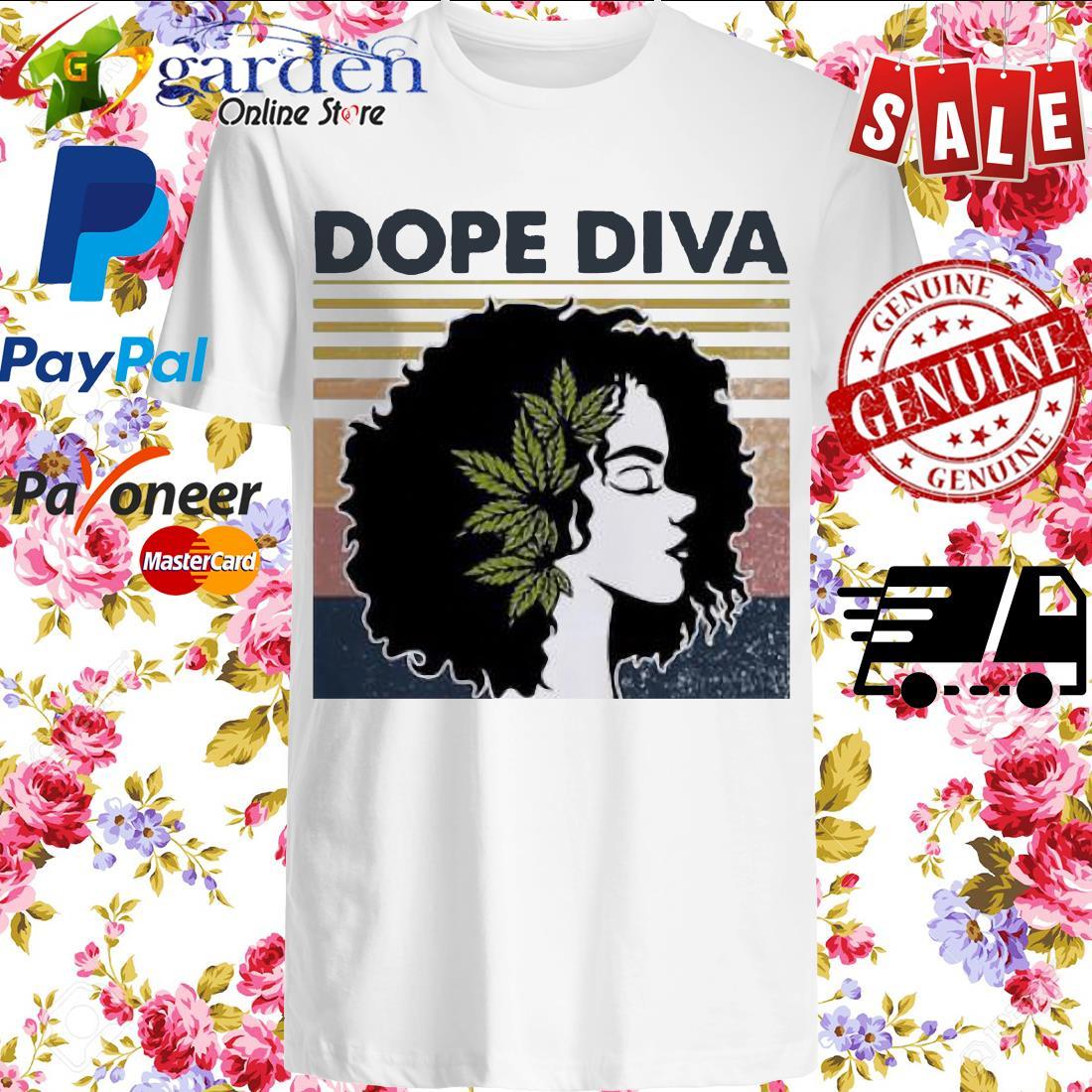 Dope Diva Black Girl Vintage shirt