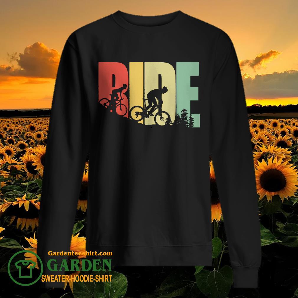 Eat Sleep Ride vintage sweater