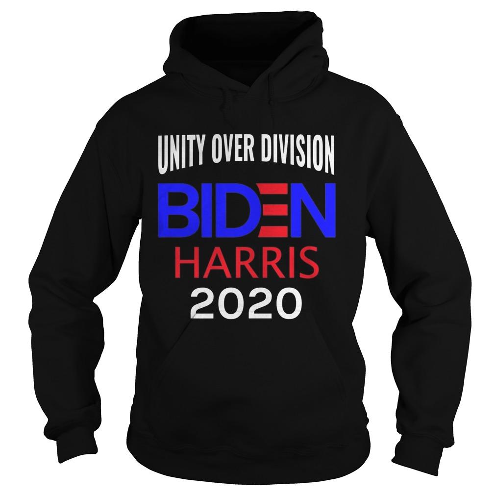 Elect Joe Biden Kamala Harris 2020 Unity Over Division  Hoodie