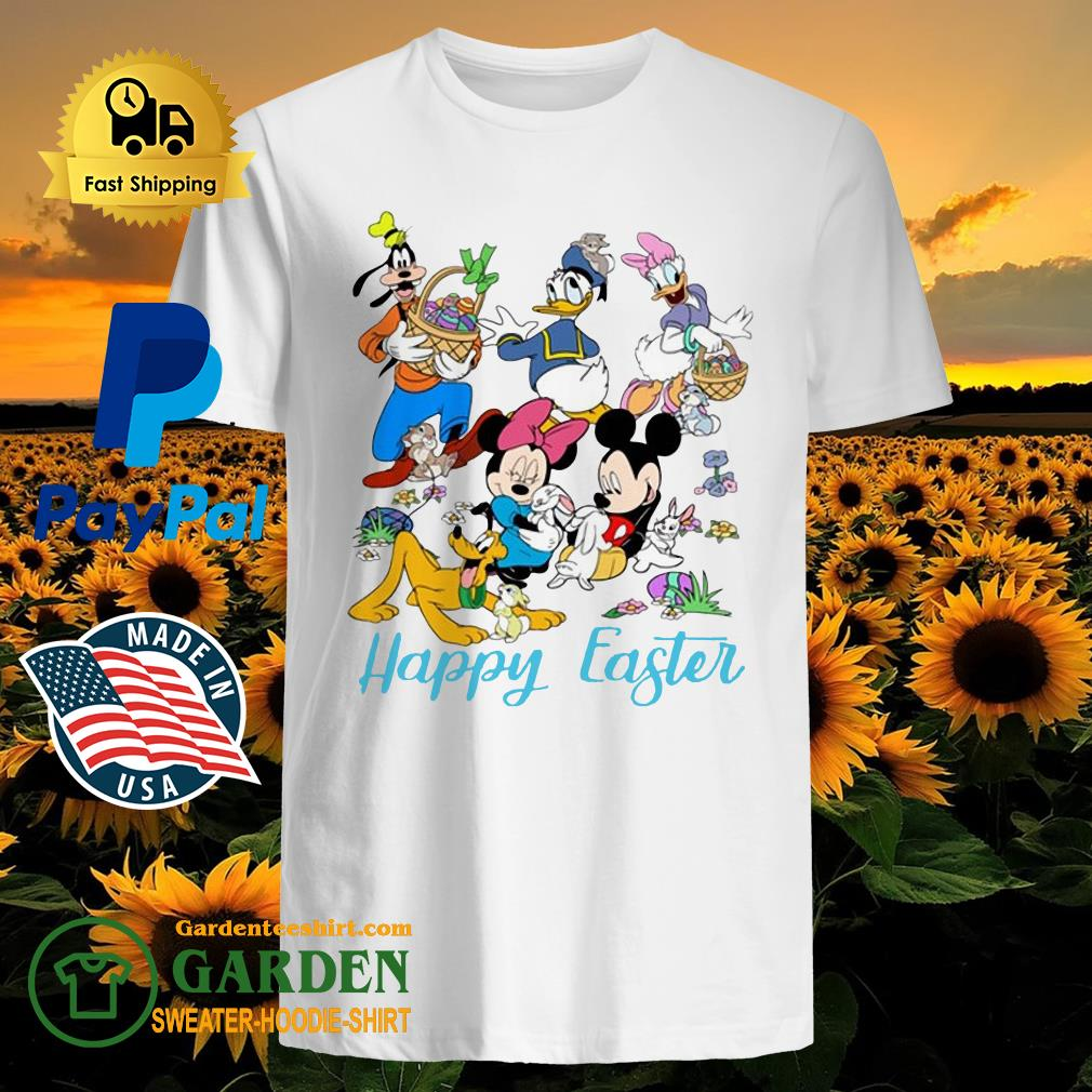 Happy Easter Mickey And Friends Shirt