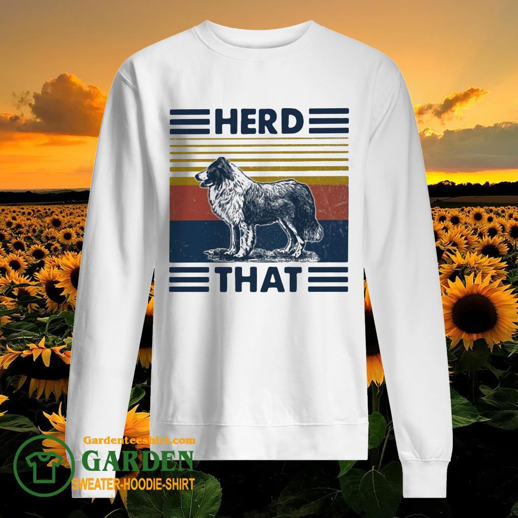 Herd that Dog vintage sweater