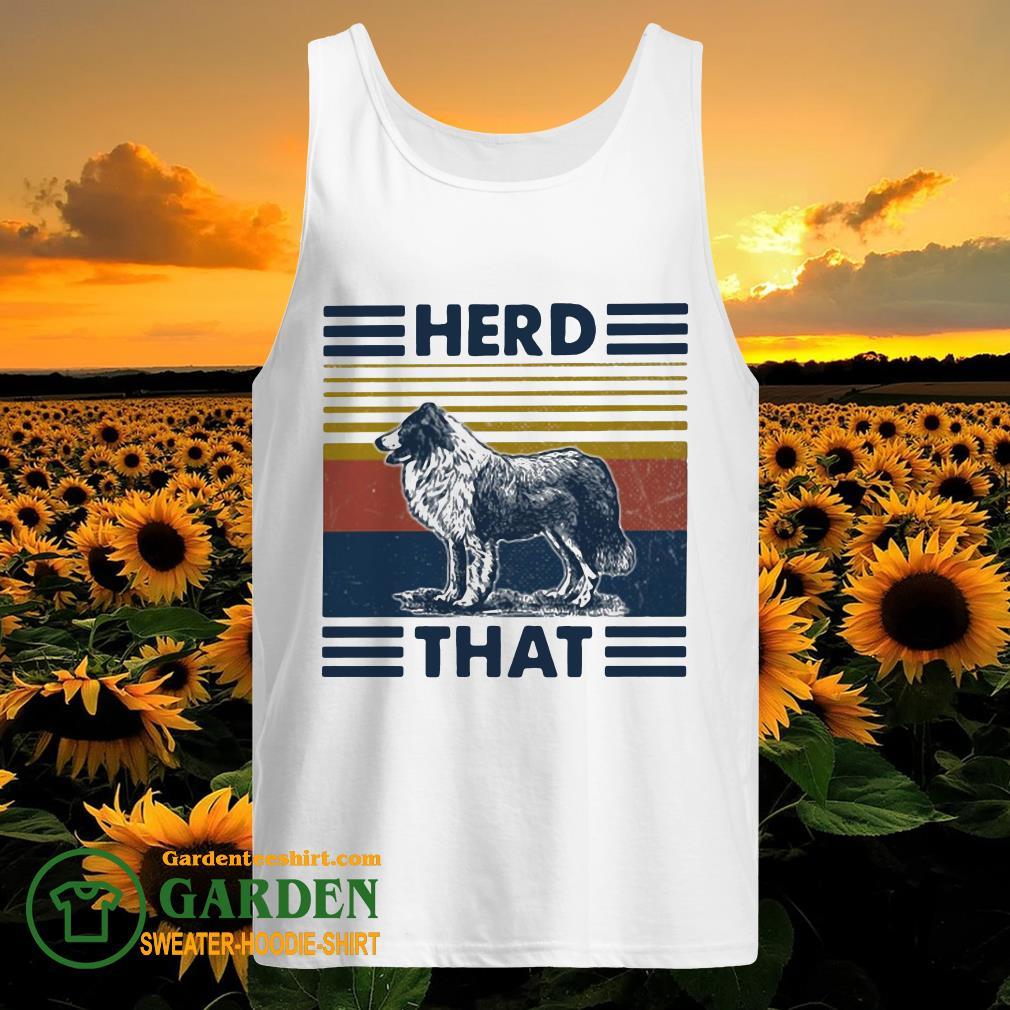 Herd that Dog vintage tank top