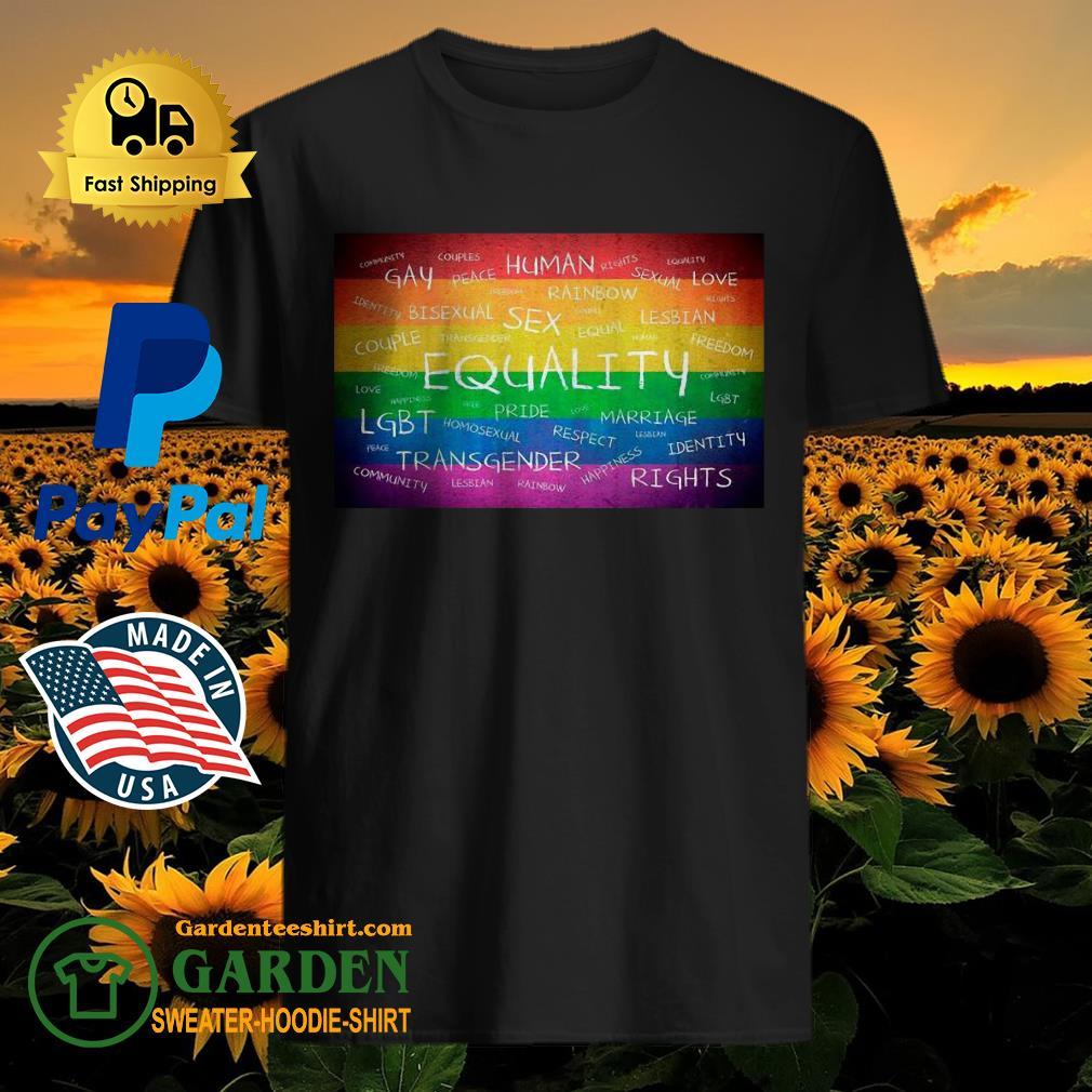 Human Gay LGBT 2020 shirt