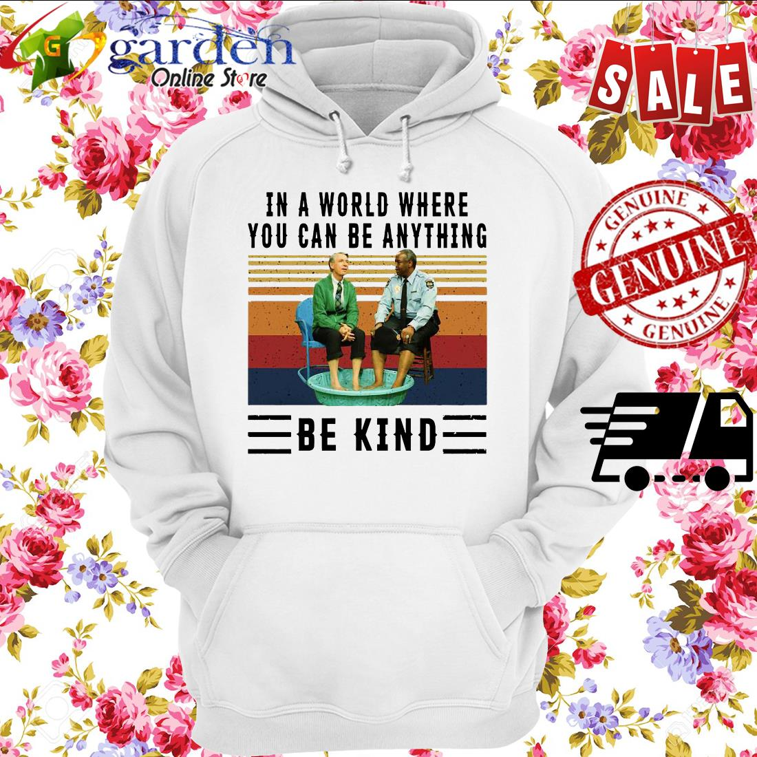 In A World Where You Can Be Anything Be Kind Kiddie Pool And Mr Rogers Vintage Shirt Hoodie Sweatshirt Longsleeve Tee