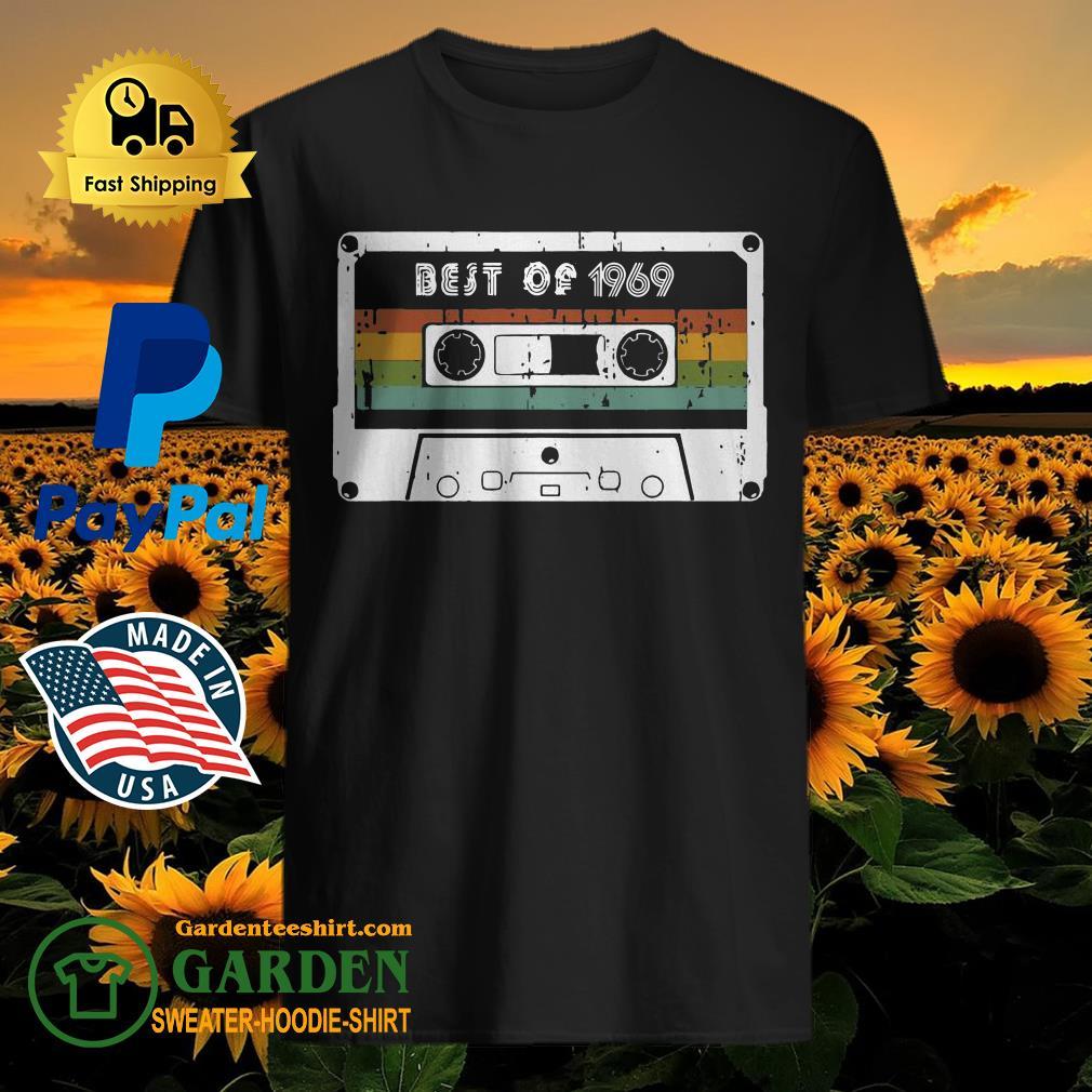 Legends were born in 1969 Vintage 50th Birthday Shirt