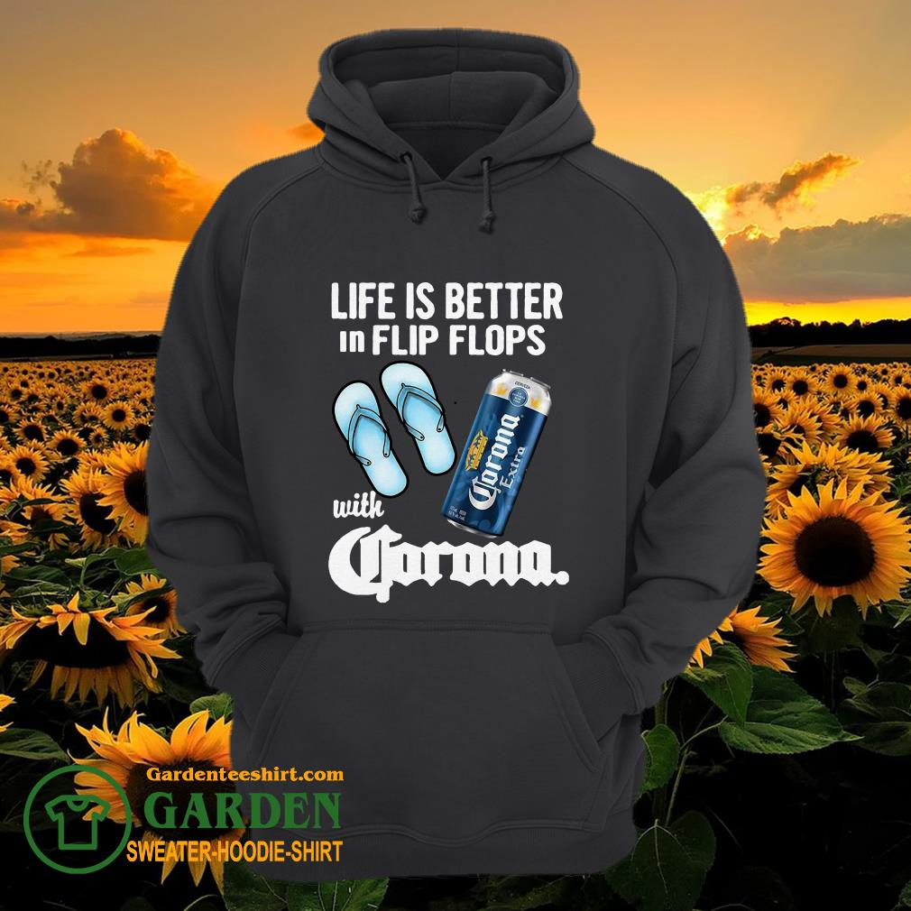Life Is Better In Flip Flops With Crorono hoodie
